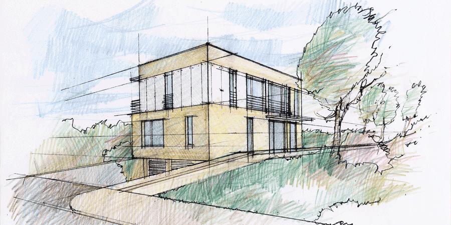 dessin pour les architectes - croquis